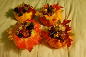flowered gourds