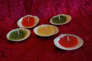 bees wax candles