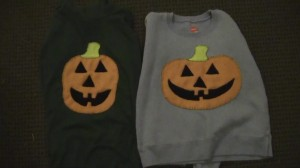 jack-o-lantern applique