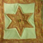 Free quilted pillow star pattern