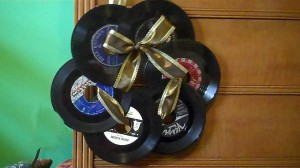 record wreath