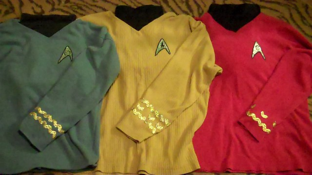 DIY Cheap and Easy Star Trek Costumes