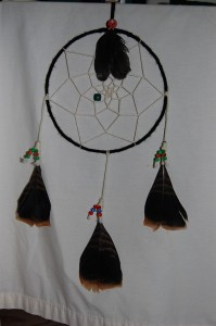 Making a Dream Catcher