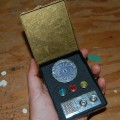 Star Trek communicator and tricorder