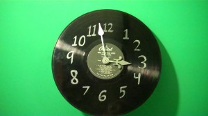 How to Turn a Record into a Clock