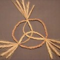Wheat Weaving Tutorial: Celtic Knot