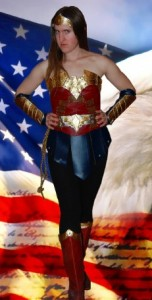 Wonder Woman costume DIY part 2