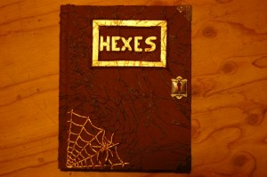How to Make a Halloween Spellbook