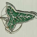 DIY Cheap and Easy Elven Leaf Brooch