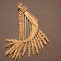 Wheat Weaving Tutorial: Fairy Harp