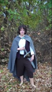 How to Make a Super Easy Frodo Costume (or other similar Hobbit)
