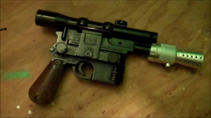 How to make a Han Solo Blaster DL 44 Look More Movie Authentic