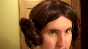 How to Make a Princess Leia Costume Part 3: The Hair