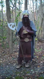 How to Make a Gimli Costume Part 2: Bracers, Chain Mail, Belt