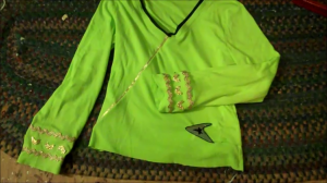 How to Make a Captain Kirk Green Tunic
