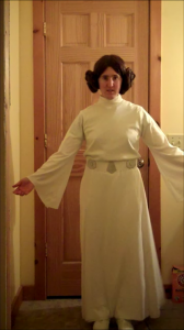 How to Make a Princess Leia Costume Part 2: The Dress