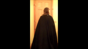 Darth Vader Costume Tutorial Part 4: The Cape