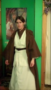 DIY Jedi Costume Part 1: The Tunic