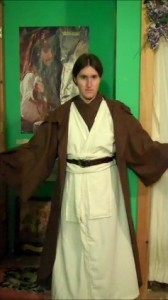 DIY Jedi Costume Part 2: Brown Outer Robe