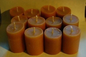 Homemade Votive Candles