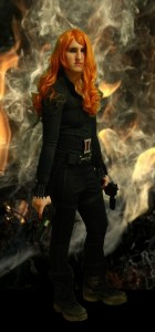 DIY Black Widow Costume Part 2: belt, holster, bracelets, gloves