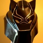 Black Panther Helmet – DIY How to Make