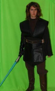 DIY Anakin Skywalker Costume: Tunic and Belt