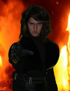 DIY Anakin Skywalker Costume: Glove and Scar