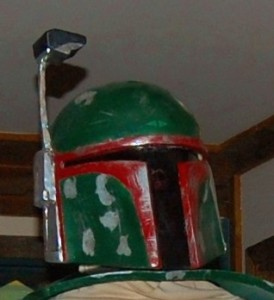DIY Boba Fett Costume: Helmet and Gauntlets (pepakura)