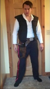 Han Solo Costume Tutorial