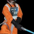 DIY Luke Skywalker Costume (x-wing pilot): Orange Flight Suit