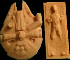 Star Wars Soap Mold Review and Demo