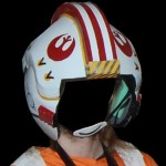 Luke Skywalker Costume (x-wing pilot) Part 3: DIY Helmet