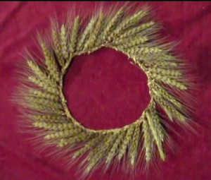Wheat Weaving Tutorial: Head Wreath / Crown