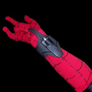 Spiderman Costume Tutorial Web Shooters and Gloves