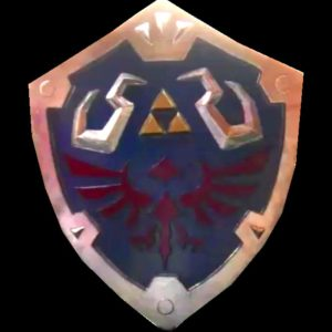 DIY Link Shield from Legend of Zelda