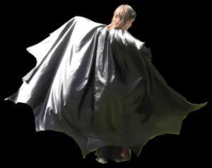 DIY Batman Costume Cape