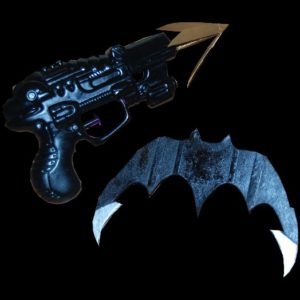 Batman Costume Tutorial: Grapnel Gun and Batarang