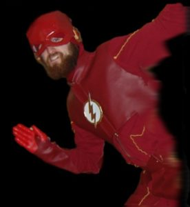 DIY Flash Costume