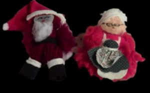 DIY Yarn Santa Claus