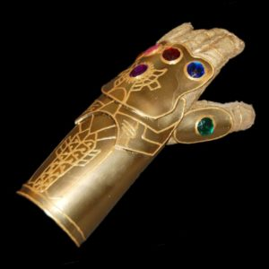 Cheap and Easy DIY Infinity Gauntlet