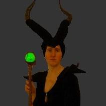 Maleficent Costume Diy Horns Staff Ring
