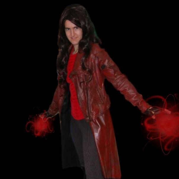 Diy Scarlet Witch Costume Civil War Infinity War Version