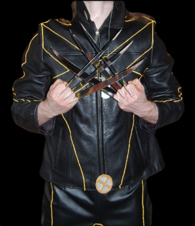 Wolverine Part 2 Diy Wolverine Costume Tutorial The